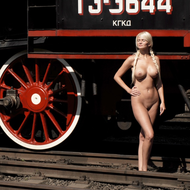 Russian Railroad Engine