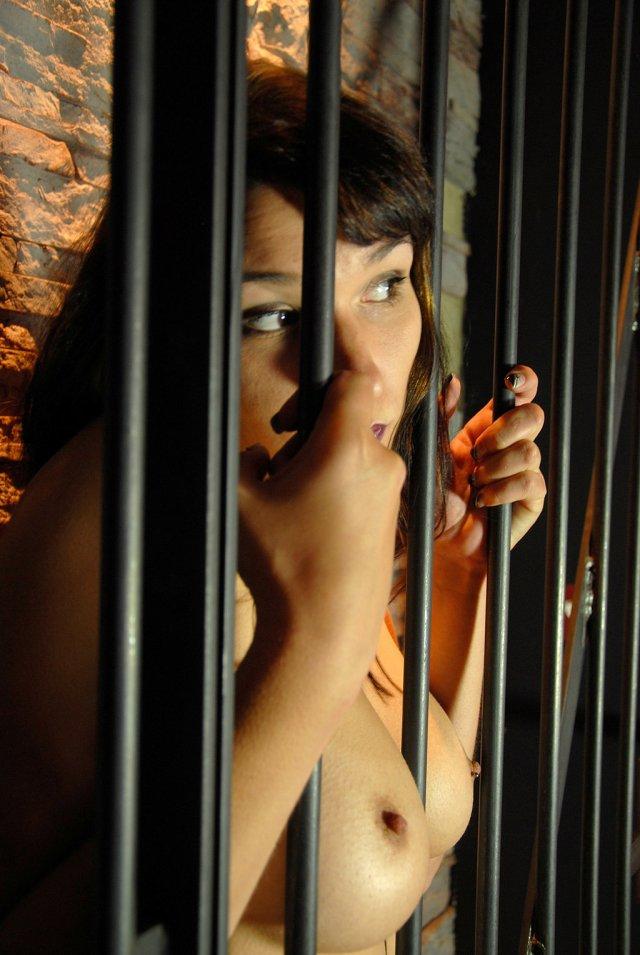 Naked Behind Bars