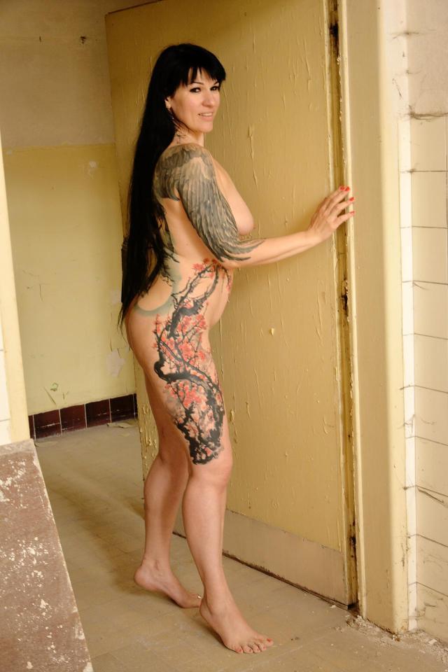 Tattooed Oksana