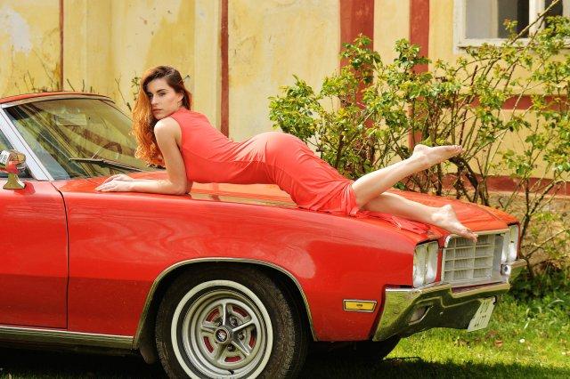 Curvy Car Girl